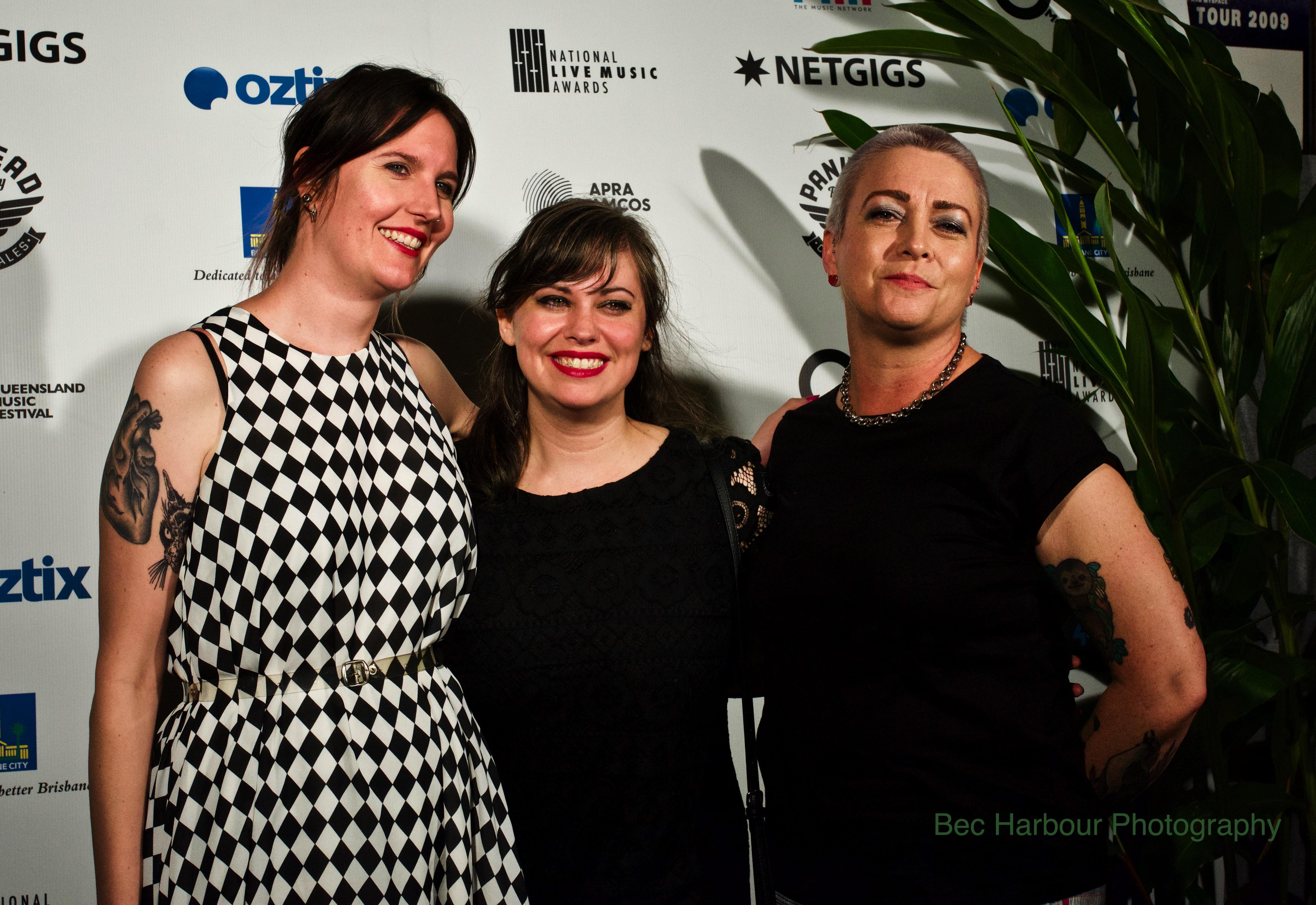 Girls Rock! Australia - winners The NLMA - Photo Bec Harbour